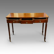 Gillows style mahogany side-table