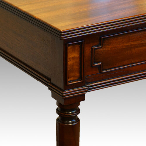 Antique mahogany Gillows style sidetable
