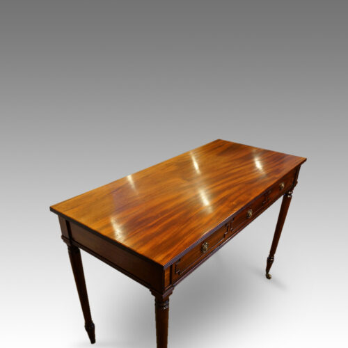 Regency mahogany table