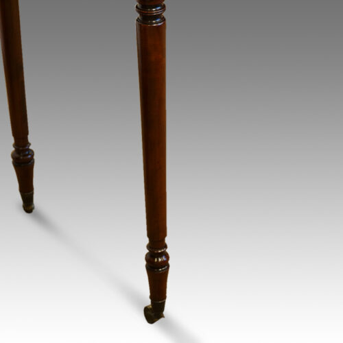 Antique mahogany Regency table