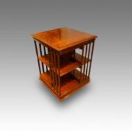 Victorian mahogany revolving bookcase