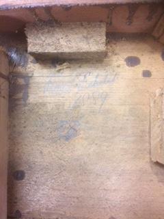 Victorian mahogany revolving bookcase date (2)