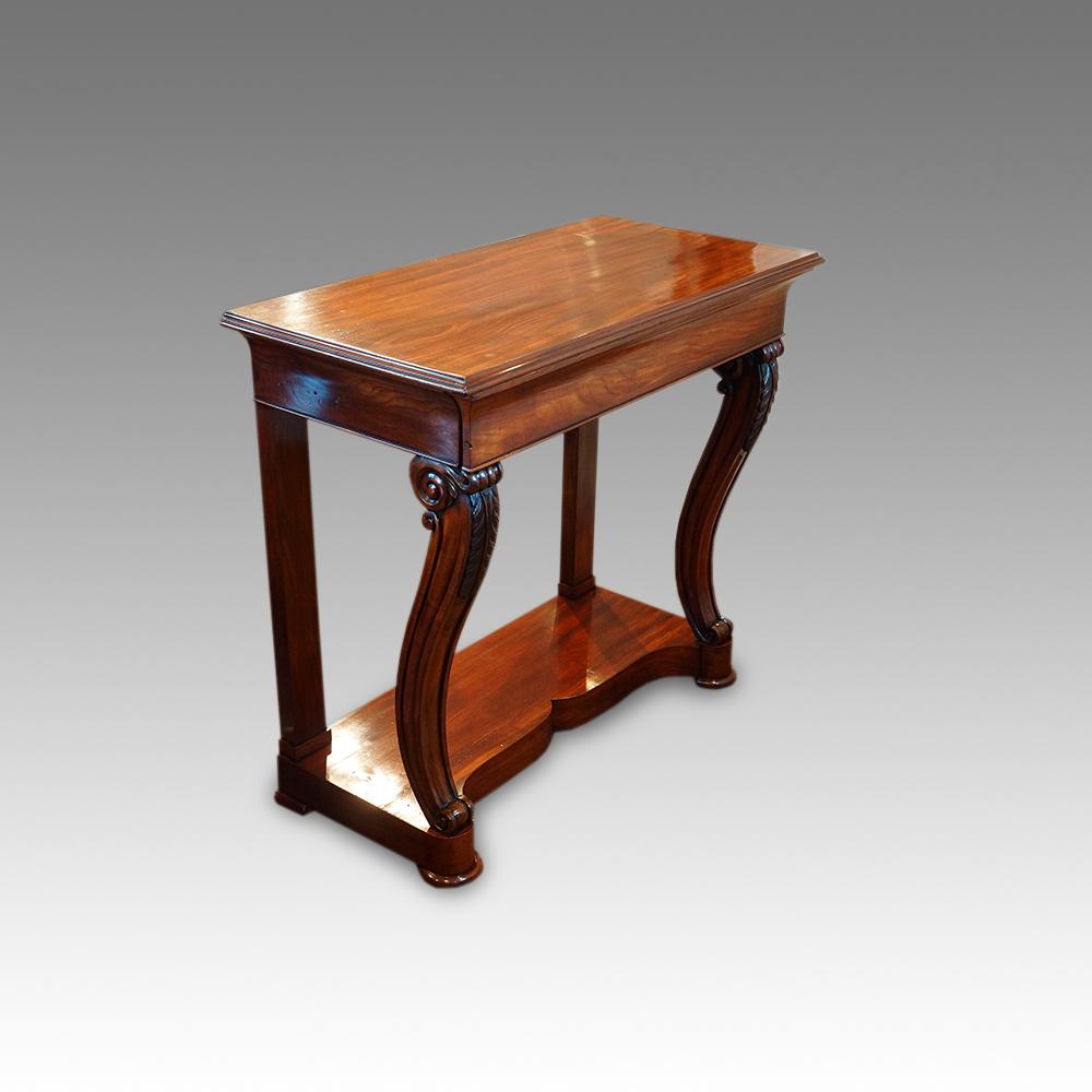 mahogany hall table. Mahogany Hall Table