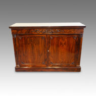 William IV rosewood sidecabinet
