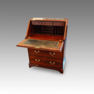 Edwardian mahogany bureau fall down