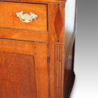 Georgian oak north country dresser with rack,8