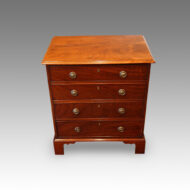 Antique mahogany small chest of drawers