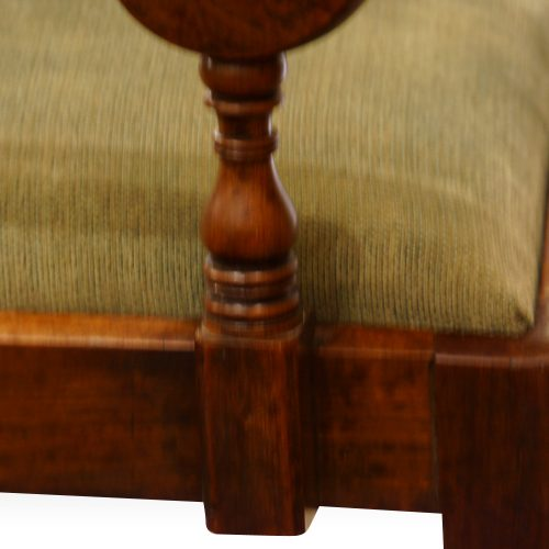 Set of 8 William IV mahogany dining chairs support of arm
