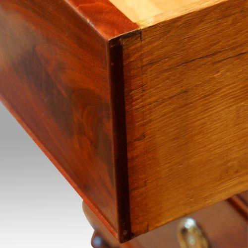 Victorian mahogany press wardrobe dovetails