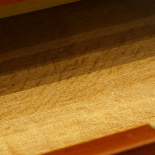 Victorian mahogany press wardrobe drawer oak lining