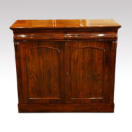 Victorian rosewood chiffonier sideboard