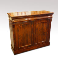 Victorian rosewood chiffonier sideboard angle view