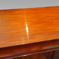 Antique mahogany chiffonier sideboard top view