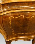 Pair of Italian commodes side detail
