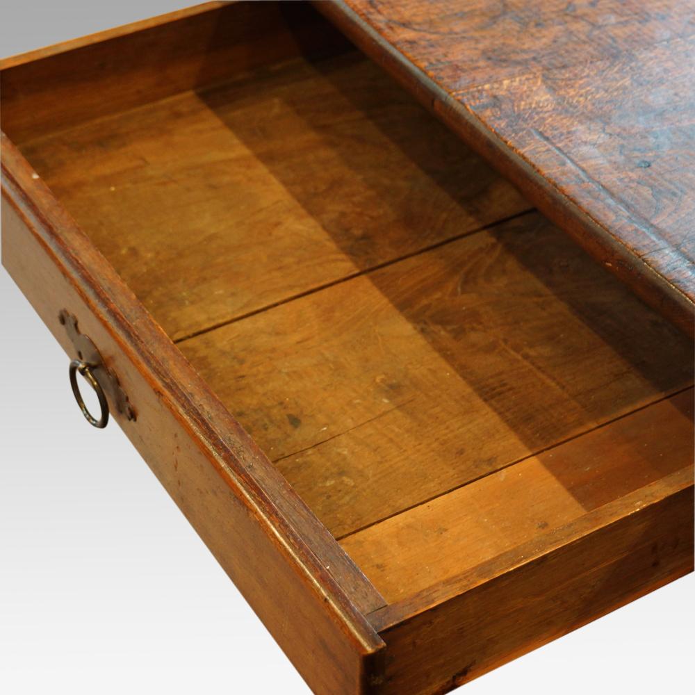Victorian Oak Farmhouse Kitchen Table Hingstons Antiques
