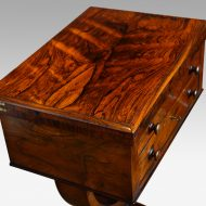 William IV work and card table top