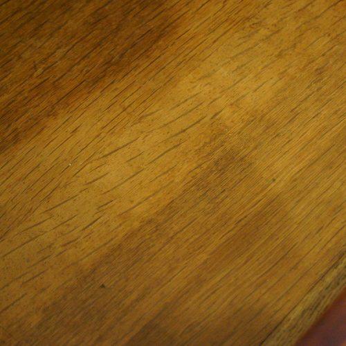 George III mahogany linen press oak drawer lining