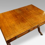 Regency mahogany sofa table top