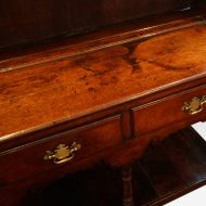 Antique oak cottage dresser top