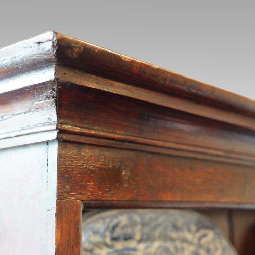 Antique oak cottage dresser cornice