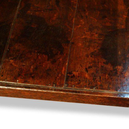 Antique oak cottage dresser cornice pot board