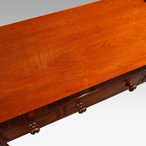 William IV mahogany side table top