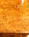 Victorian inlaid walnut card table top inay