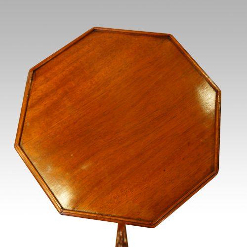 Antique mahogany wine table top