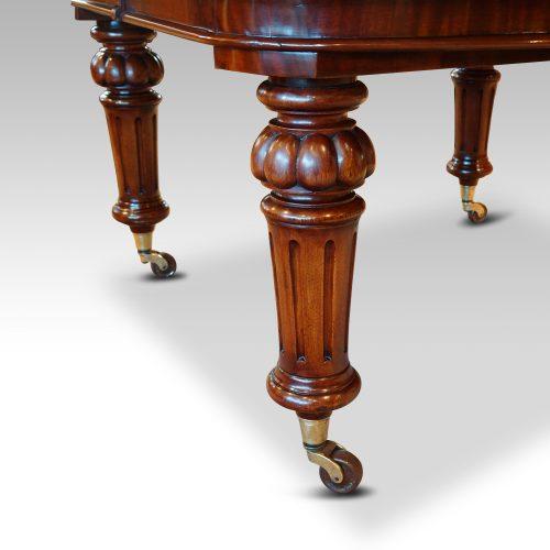 Victorian mahogany 10+ seat dining table legs