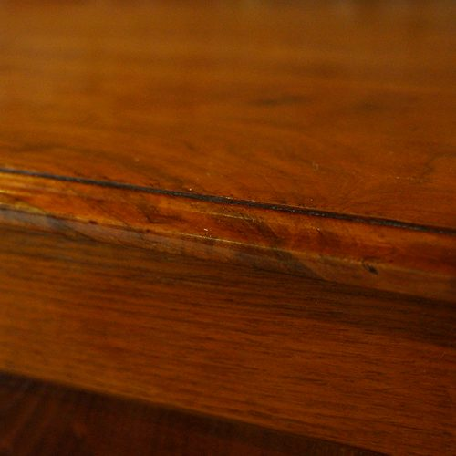 Edwardian walnut cupboard (4)