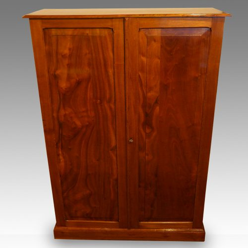 Edwardian walnut cupboard (5)