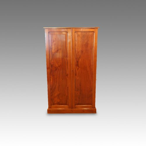 Edwardian walnut cupboard (7)