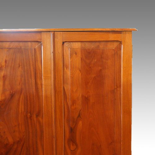 Edwardian walnut cupboard (8)