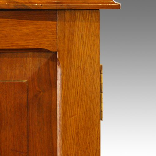 Edwardian walnut cupboard (9)