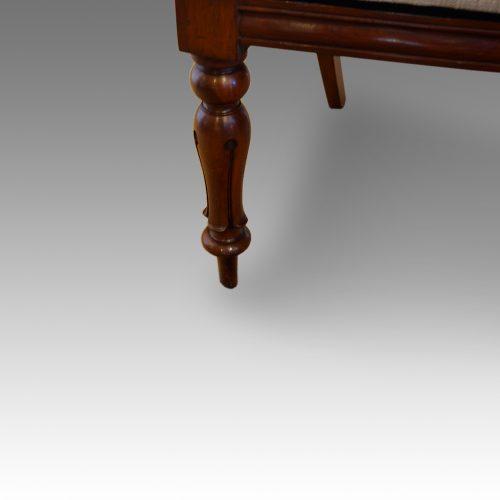 Set of 6 Victorian mahogany balloonback dining chairs lef