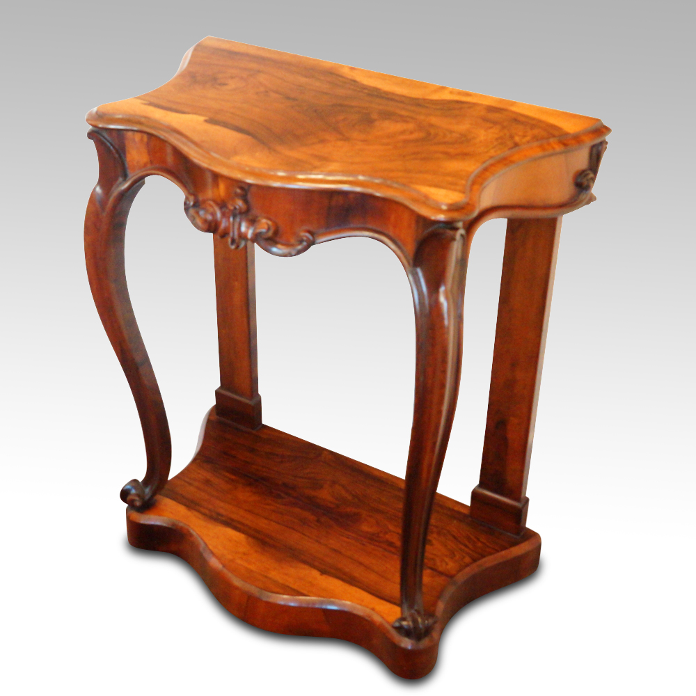 Pleasing Victorian Rosewood Console Table Andrewgaddart Wooden Chair Designs For Living Room Andrewgaddartcom