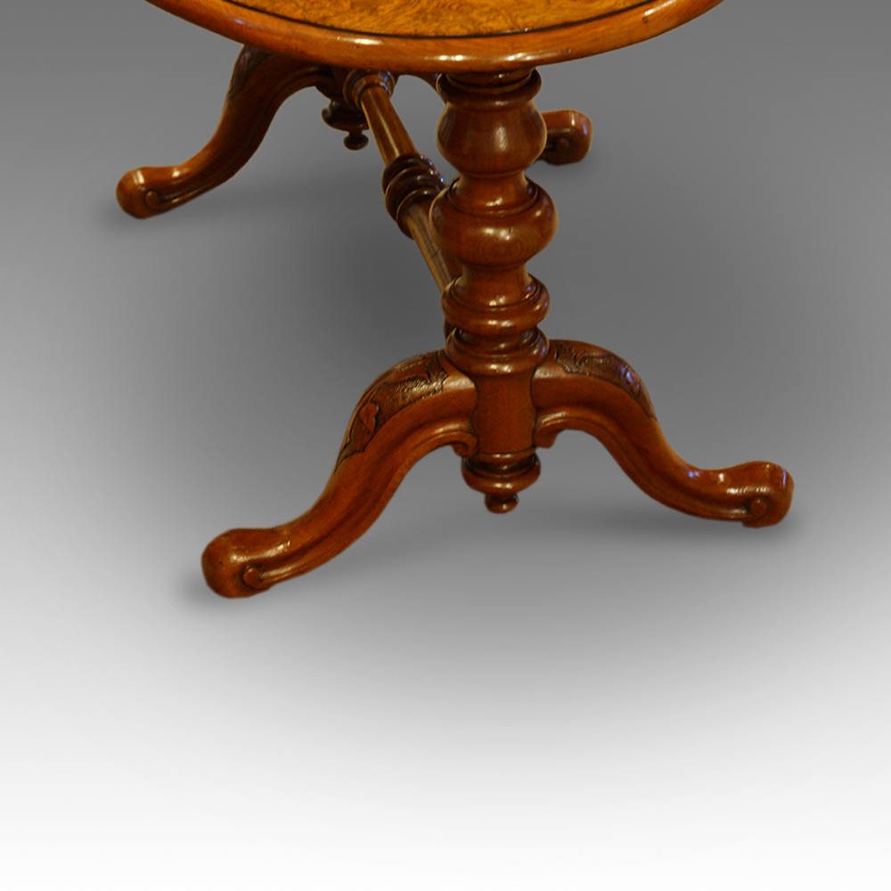 Victorian Walnut Coffee Table Legs Hingstons Antiques Dealers